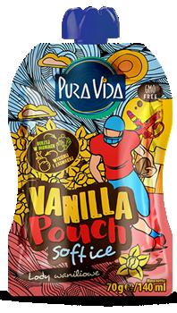 Pura vida pouch vanilla softice