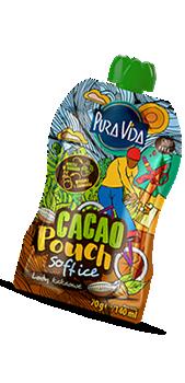 Pura vida pouch cacao softice