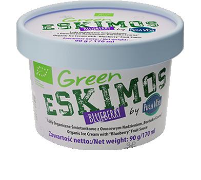 Green Eskimos BLUEBERRY Organic