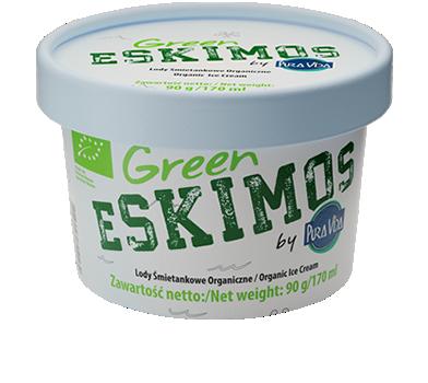 Green Eskimos lody śmietankowe